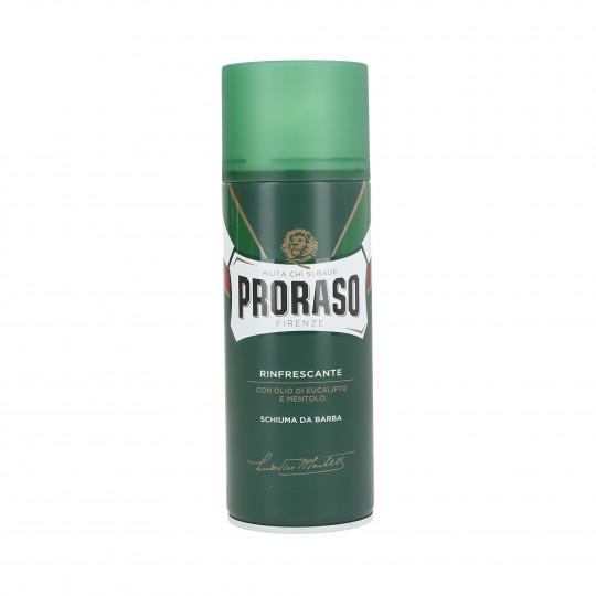 PRORASO GREEN Erfrischender Rasierschaum 400ml