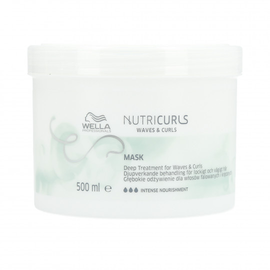 WELLA PROFESSIONALS NUTRICURLS Maske für lockiges und gewelltes Haar 500ml