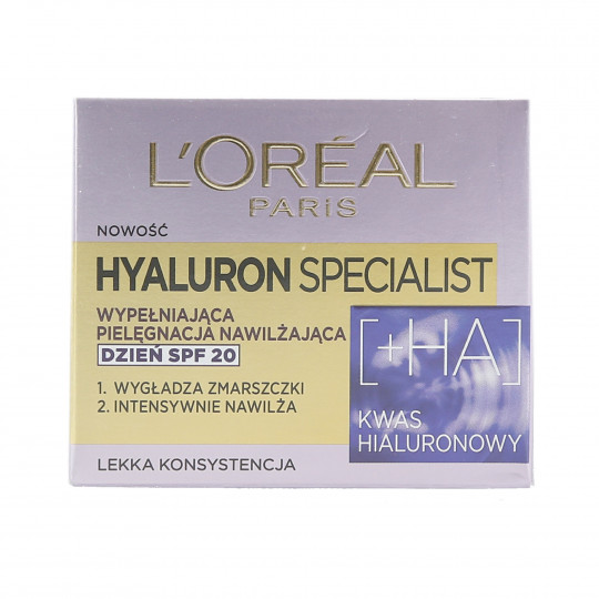L'OREAL PARIS HYALURON SPECIALIST Tagescreme für Gesicht SPF20 50ml