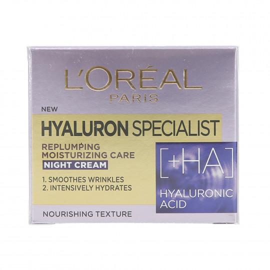 L'OREAL PARIS HYALURON SPECIALIST Nacht-Creme-Maske für Gesicht 50ml