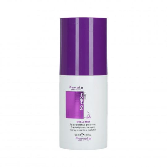 FANOLA NO YELLOW Shield Mist Parfümiertes Haarschutzspray 100ml