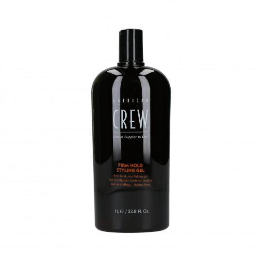 AMERICAN CREW CLASSIC Firm Hold Styling Haargel für mehr Volumen 1000 ml