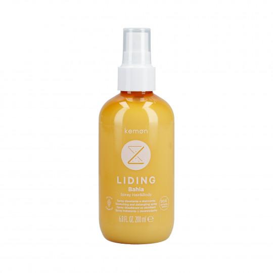 KEMON LIDING BAHIA Feuchtigkeitsspendendes After-Sun-Spray für Körper und Haar 200ml