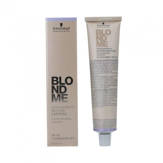 SCHWARZKOPF PROFESSIONAL BLONDME Blonde Lifting Cremige aufhellende Basis 60ml
